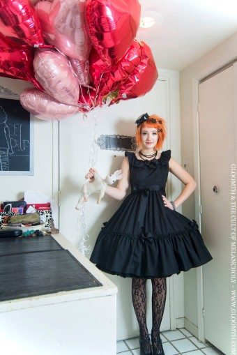 gloomth holiday party dress gothic lolita