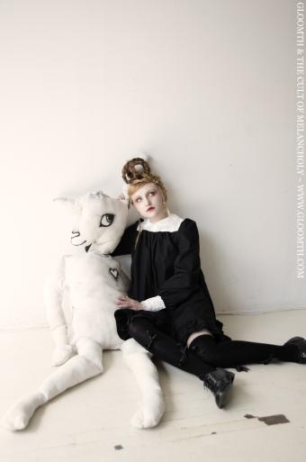 smock dress nun lolita gloomth casual lace
