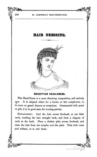 victorian how to hair style guide