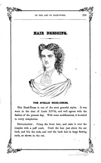 diy victorian hairstyle