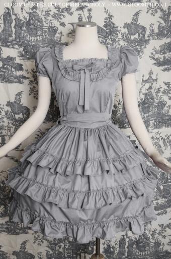 classic lolita grey gloomth
