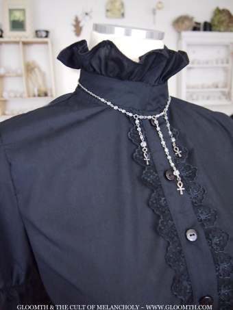 Victorian Mourning Blouse gloomth