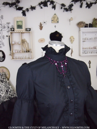 gothic lolita blouse gloomth