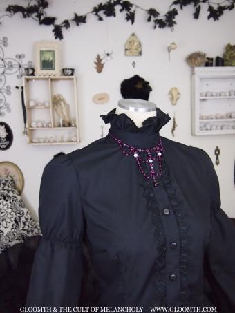 gothic lolita blouse gloomth