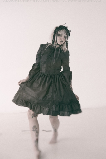 old school lolita dress gloomth