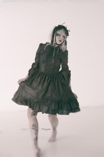 old school lolita dress gloomth