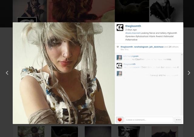 gloomth on instagram