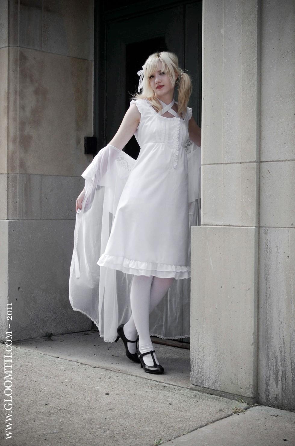 cotton slip dress lolita