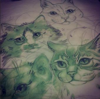 sara macneil cat tattoo cattoo canada