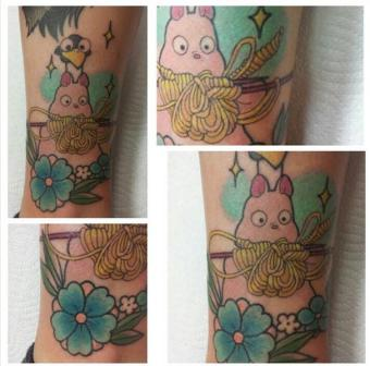 sara macneil kawaii tattoo anime