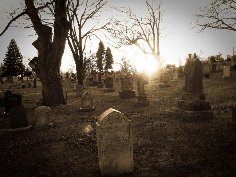 cemetery toronto tombstones symbols