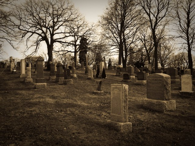 cemetery toronto tombstones