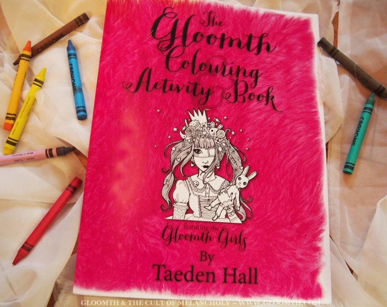 adult coloring book by gloomth
