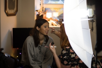gloomth makeup behind the scenes