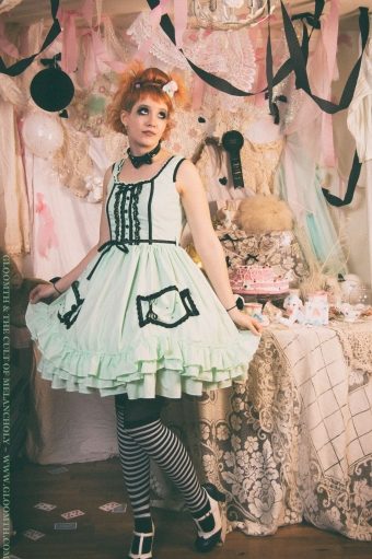 lolita candy dress prom goth gloomth