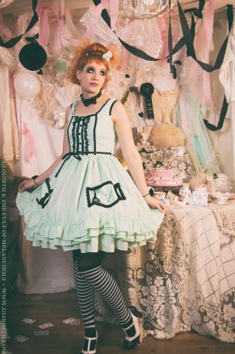 lolita candy dress prom goth gloomth