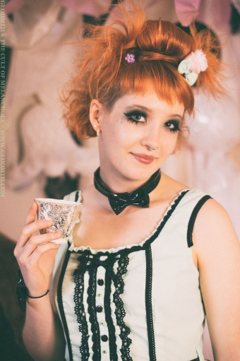 gloomth gothic lolita prom party candy hair