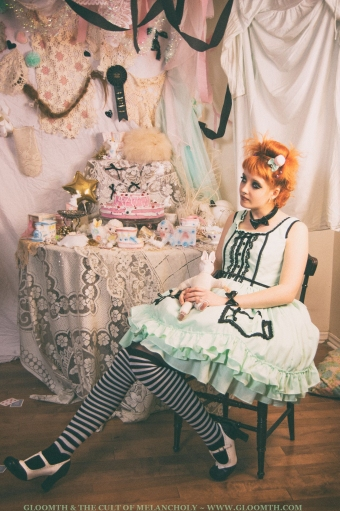 gloomth candy pocket lolita dress