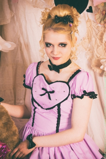 pastel goth prom dress by gloomth