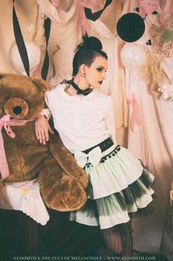 mint lolita skirt gloomth