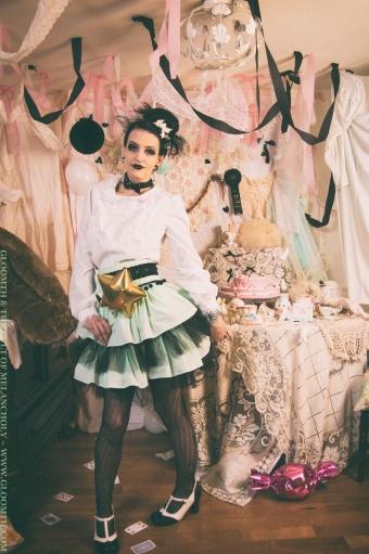 lolita heart blouse