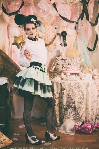 gloomth lolita skirt