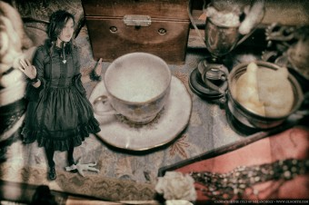 gothic tea party