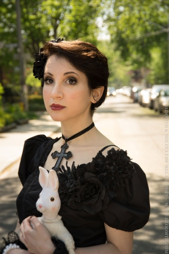 gothic lolita handmade dress
