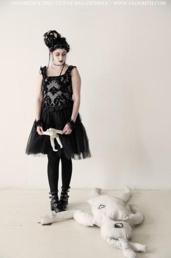 damask corset top