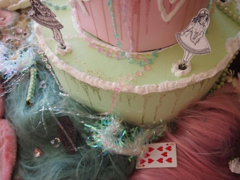 gloomth tea party cake art installation