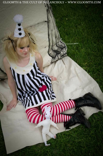 gothic circus outfit