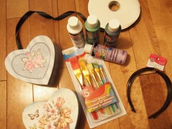 diy candy heart headdress tutorial