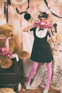 retro mod doll dress by gloomth
