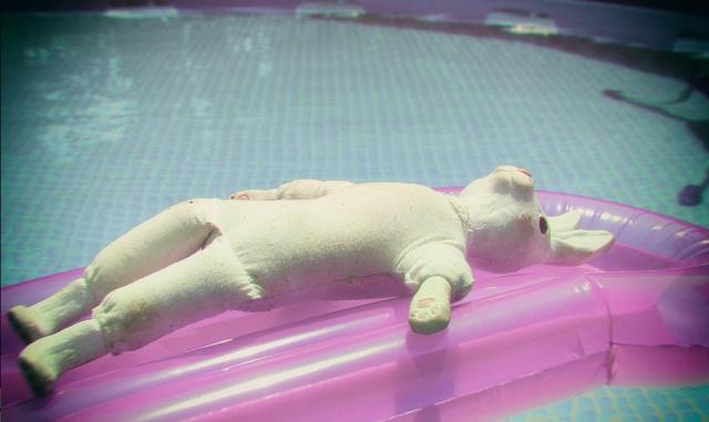 gloomth pool bunny
