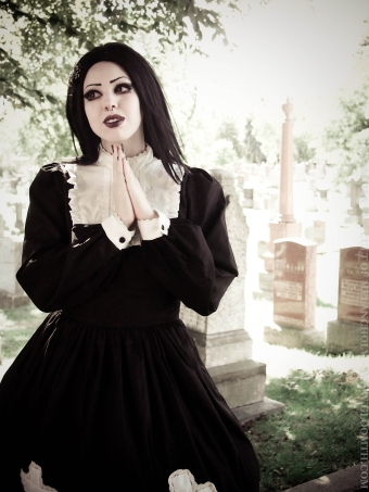gothic nun outfit by gloomth