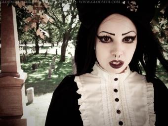 gothic cemetery photoshoot gloomth