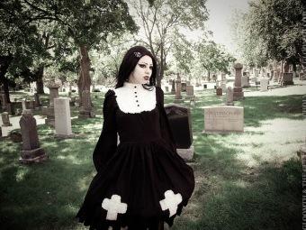 gothic nun dress