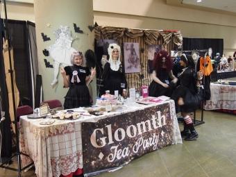 gloomth booth fanexpo toronto 2015