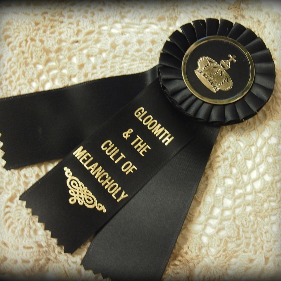 gloomth ribbon rosette award