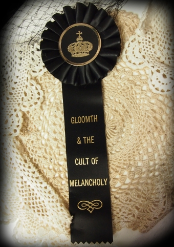 gloomth ribbon rosette award