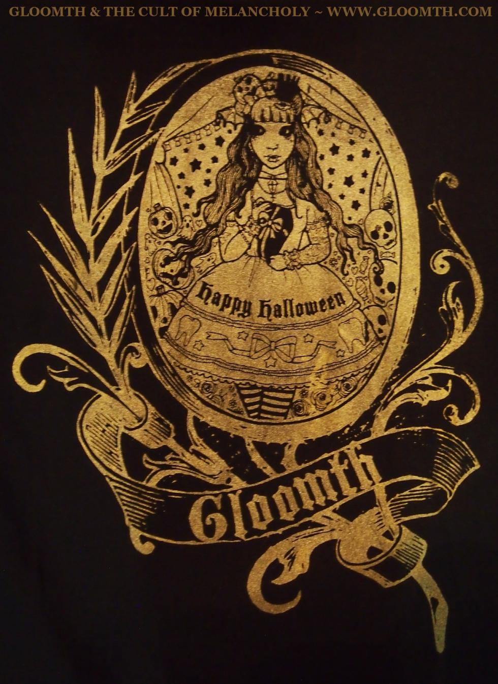 halloween tshirt gloomth