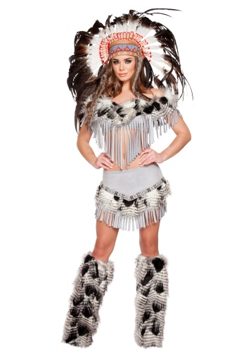 Sexy Lusty Indian Maiden Women's Costume