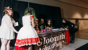 Fanexpo canada 2015 gloomth goth tea party