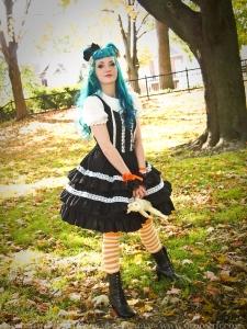 blue hair lolita vanessa walsh