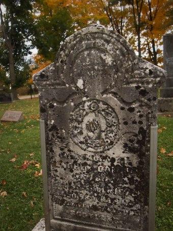 victorian tombstone ontario