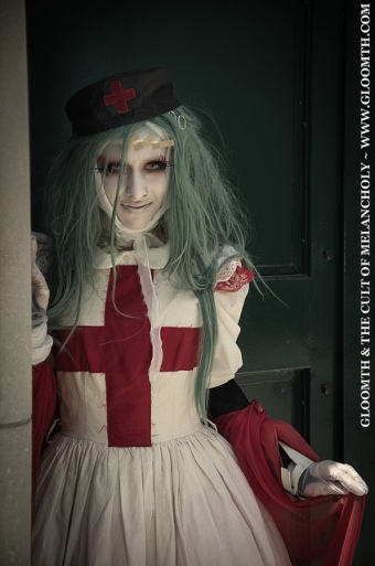 spooky nurse gothic gloomth