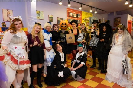 gloomth sugarmountain halloween candy party 2015