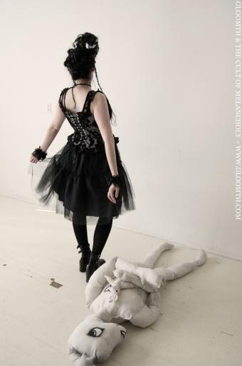 gothic tutu skirt