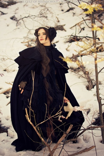gothic winter coat