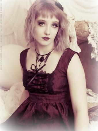 gothic valentine photoshoot